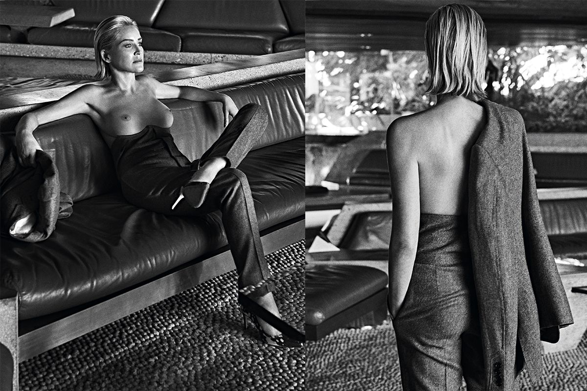 Naked sharon stone in the muse ancensored