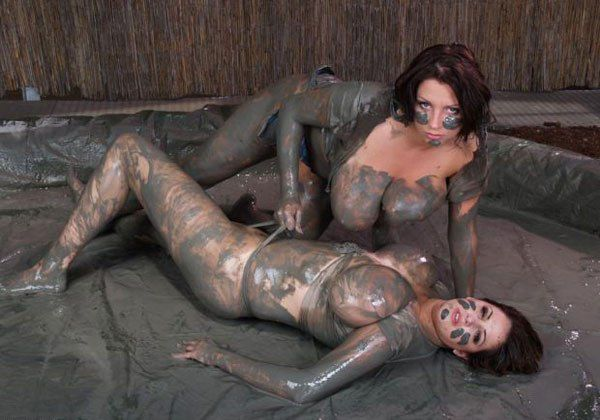 порно галереи борьба в грязи - 3