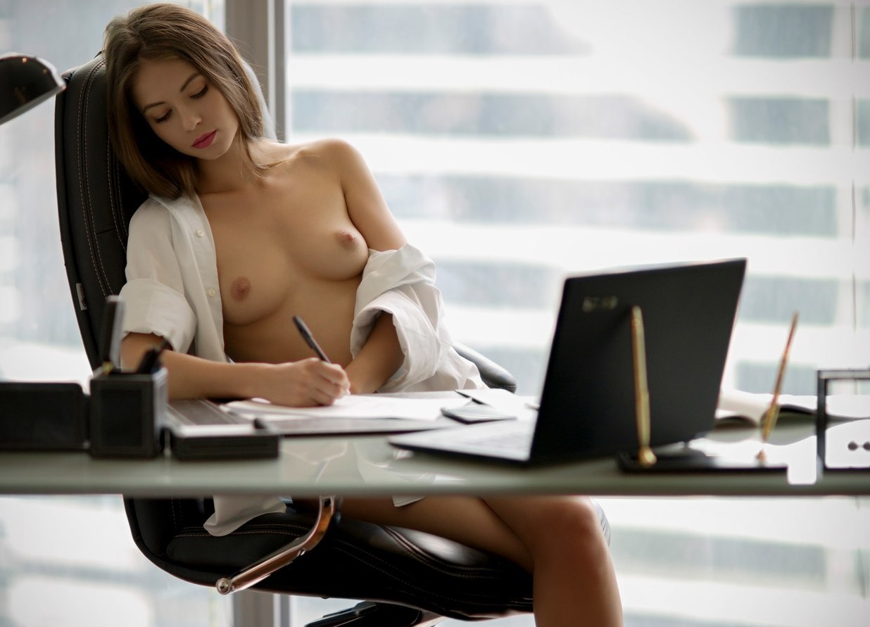 Nude Office Girls Naked