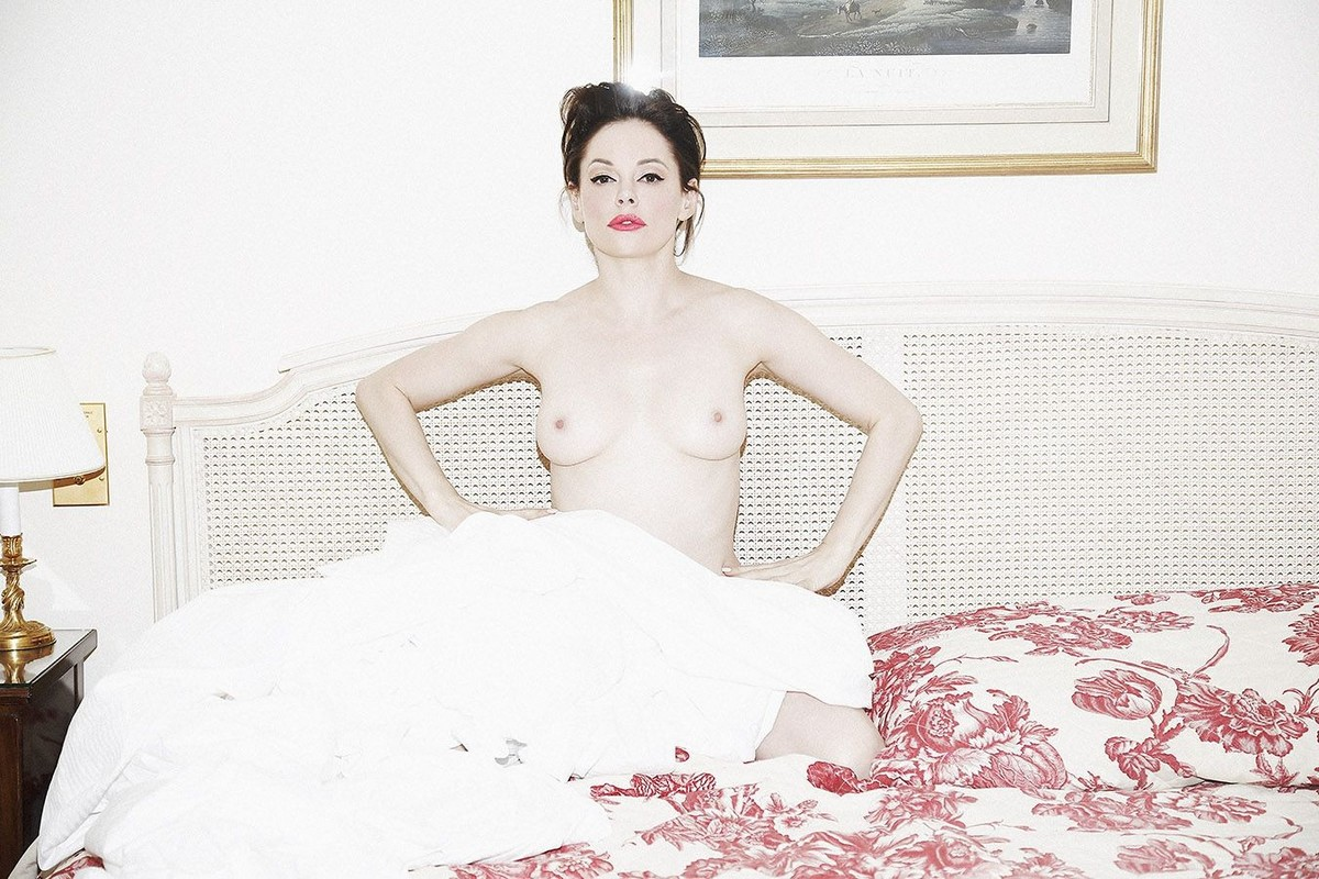 Rose Mcgowan Nudes Leaked Again
