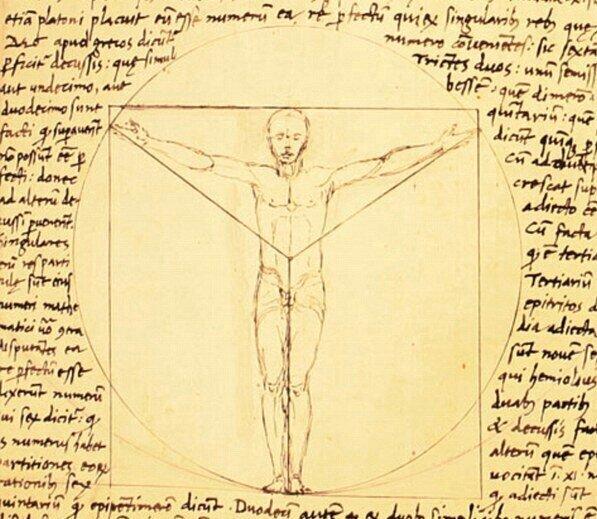 Почему этот рисунок стал знаменитым? Леонардо да Винчи и секрет «Витрувианского человека» С миру по нитке