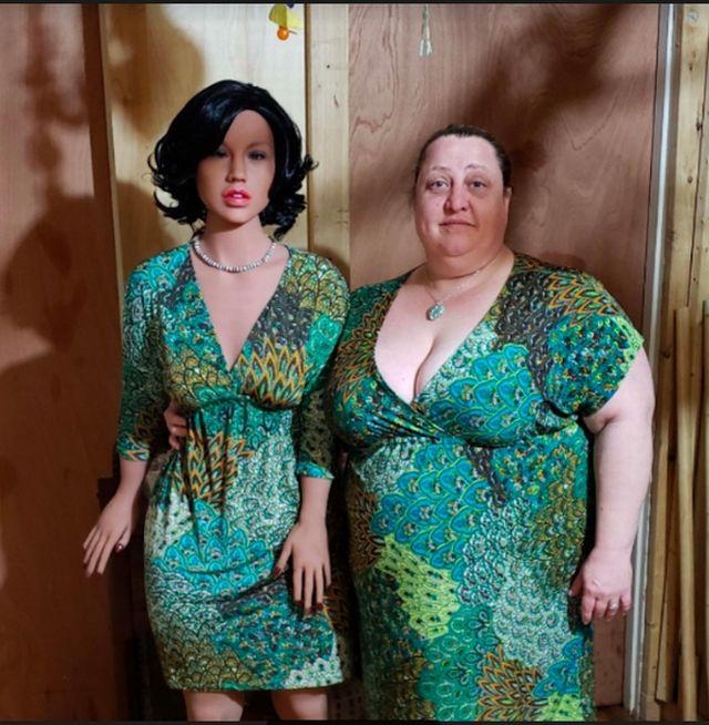 """У американской пары появились """"настоящие чувства"""" к роботизированной секс-кукле за  000 С миру по нитке"""
