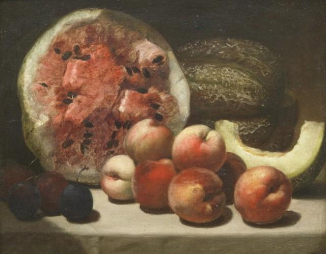 Эволюция арбуза. Отслеживаем по натюрмортам как он выглядел 350 лет назад С миру по нитке