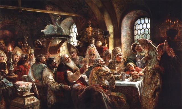 Что ели славяне С миру по нитке