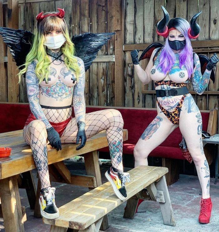 Стриптиз-клуб, где танцовщицы разбогатели во время пандемии Много девушек (+18)