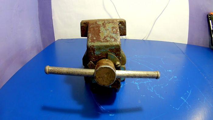 Реставрация тисков Как это сделано