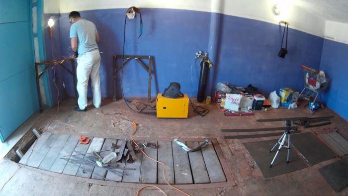 Верстак для гаража Как это сделано
