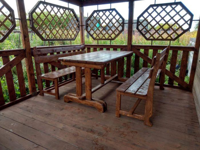 Садовая мебель Как это сделано