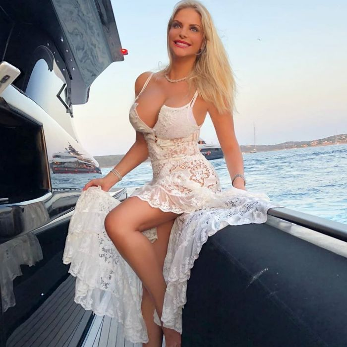 36-летняя итальянская актриса Франческа Киприани  на фото в Instagram Много девушек (+18)