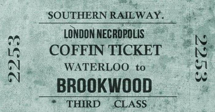 Лондонский поезд для перевозки мёртвых пассажиров С миру по нитке