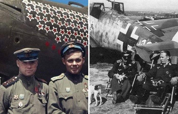 Почему немецкие асы сбили больше, чем советские летчики С миру по нитке