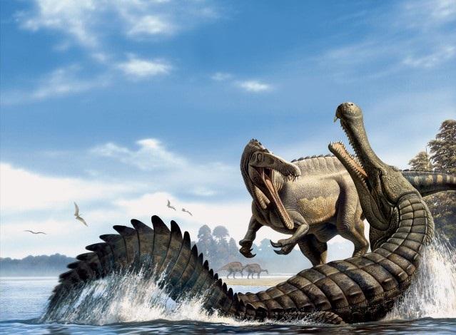 Саркозух: Чем дальше в прошлое, тем толще крокодилы. Кто питался динозаврами? Животные
