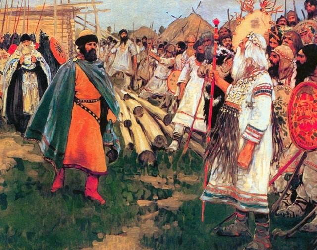 """Почему Русь пришлось крестить """"огнём и мечом"""" С миру по нитке"""