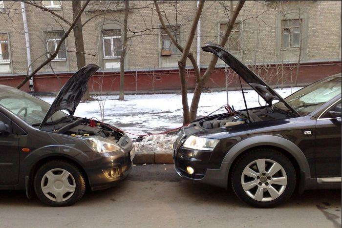 """Как безопасно """"прикурить"""" от чужой АКБ автомобиля Авто/Мото"""