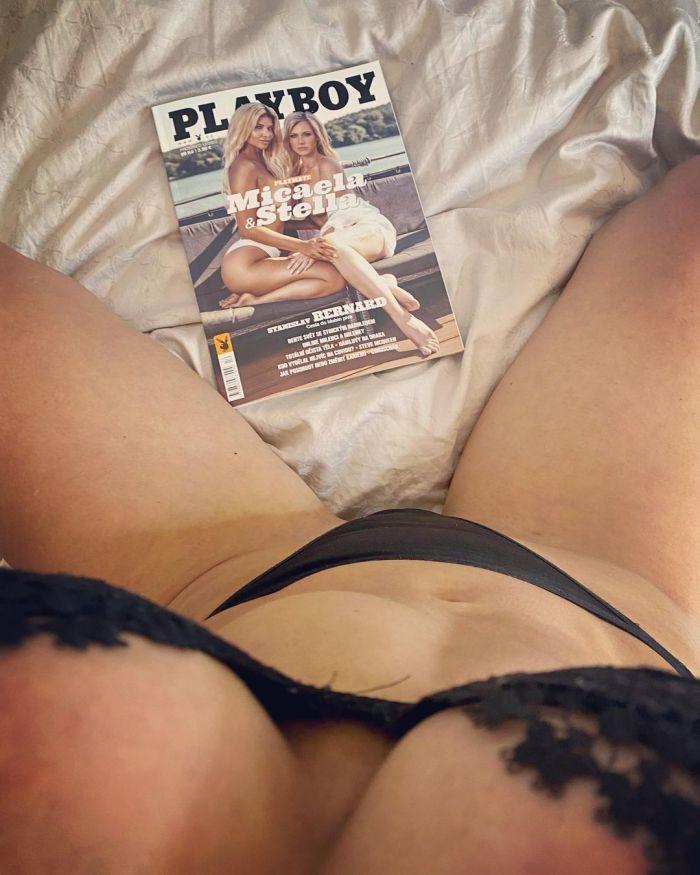 37-летняя немецкая актриса, модель, телеведущая, ди-джей и певица Микаэла Шефер  на снимках в Instagram Много девушек (+18)