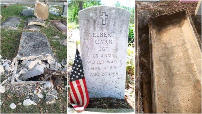 Два мужчины из Флориды выкапывали черепа ветеранов, чтобы построить оккультное святилище С миру по нитке