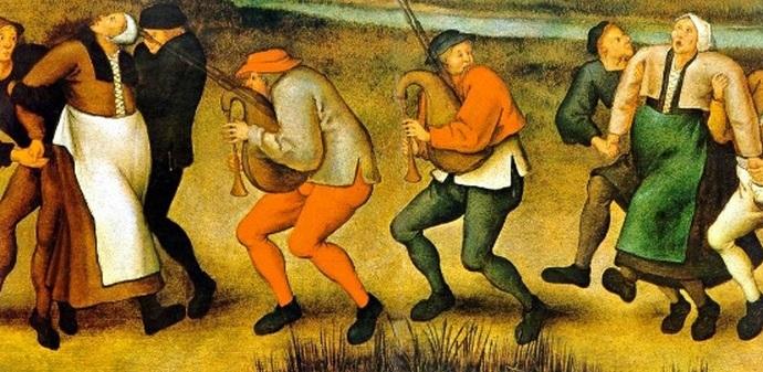 Танцевальная чума: загадочное явления, происхождение которого так никто и не объяснил С миру по нитке