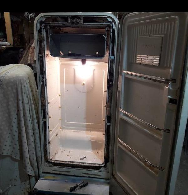 Реставрация холодильников Мир 1965г, Ленинград 2 1961г. Обновляем классику СССР после 60-ти лет работы… Как это сделано