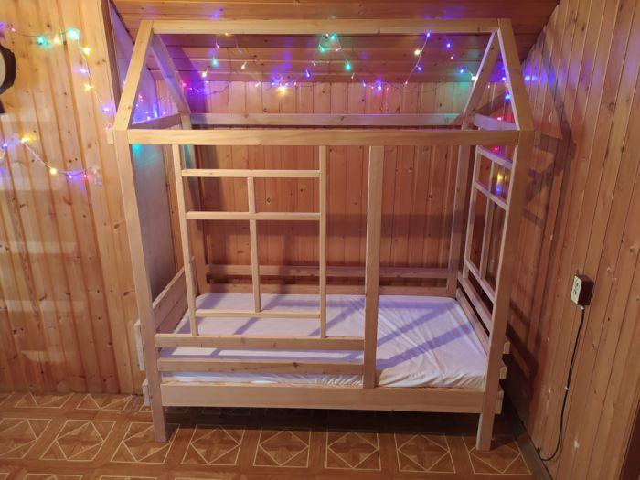 Кроватка-домик своими руками Как это сделано