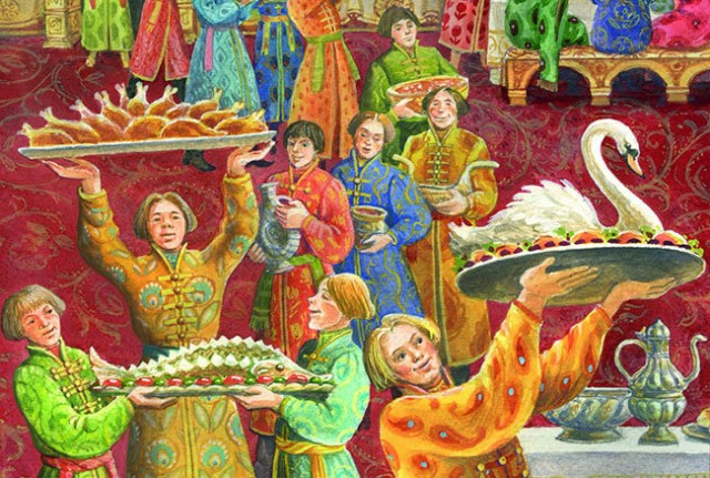 Что ели на Руси С миру по нитке