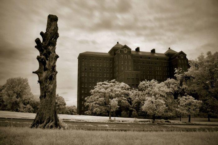 Заброшенная лечебница Кингз Парк – обитель призраков С миру по нитке
