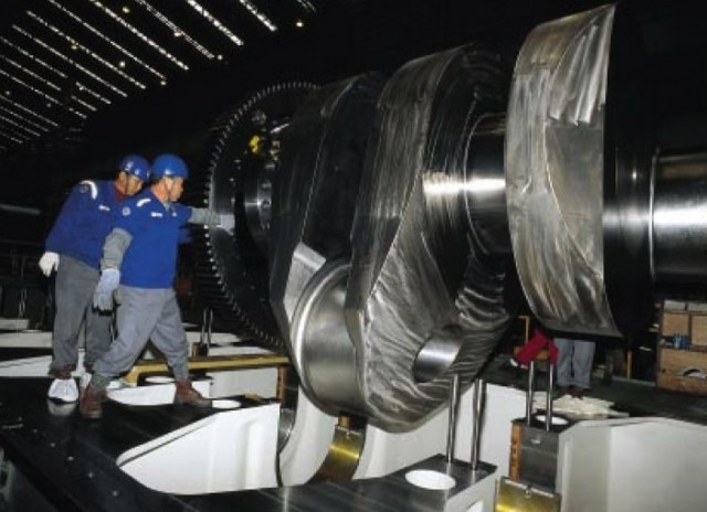 Wartsila-Sulzer RTA96-C — самый большой и самый мощный двигатель в мире Авто/Мото