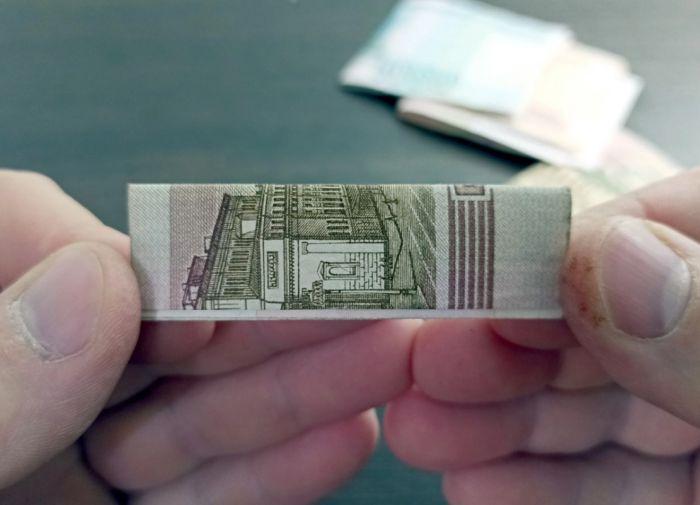 Помещаем деньги в пачку из под жвачки: оригинальный подарок на день рождения Как это сделано