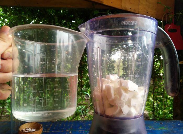 Как сделать кокосовое молоко в домашних условиях Как это сделано