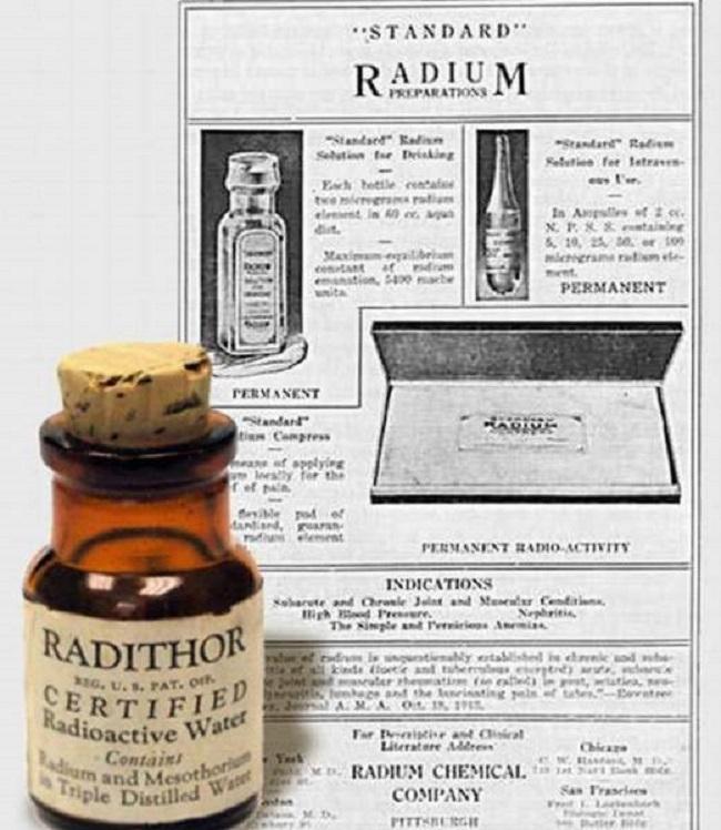 «Радитор» – смертельно опасный энергетик, который «окрылял» сто лет назад С миру по нитке