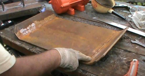 Как сделать виброплиту для трамбовки своими руками Как это сделано