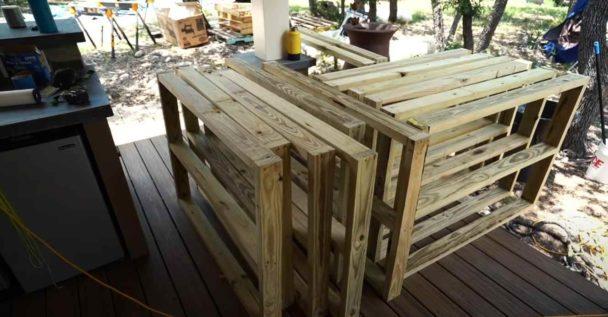 Как сделать садовую дорожку из дерева своими руками Как это сделано
