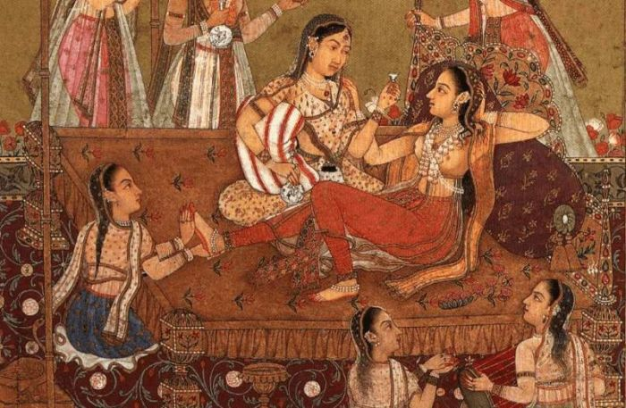 Сексуальные развлечения древних индийцев С миру по нитке