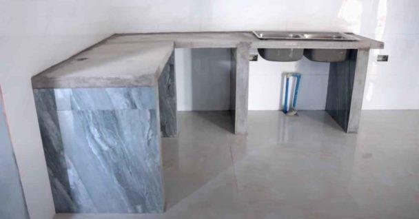 Как своими руками сделать кухонный стол со столешницей из керамогранита Как это сделано